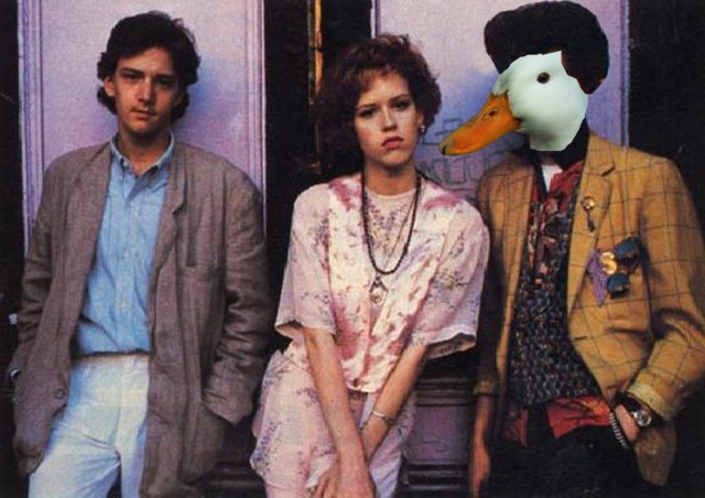 What if Duckie was a duck?