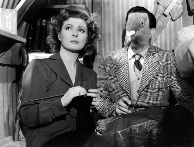What if Walter Pidgeon was a pigeon?