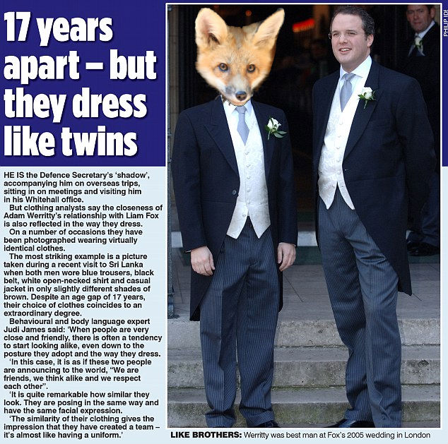 What if Liam Fox was a fox?